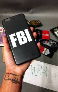 Чехол на iPhone 6 Plus FBI